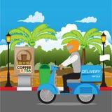 deliveryman Royalty Ilustracja