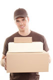 Deliveryman Royalty Free Stock Image