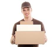 deliveryman Στοκ Εικόνα