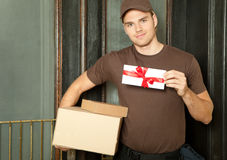 Deliveryman Royalty Free Stock Photography