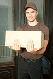 Deliveryman Royalty Free Stock Images