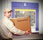 Deliveryman Stock Photos