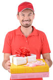 deliveryman Fotografia Stock