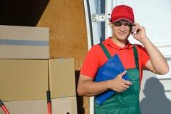 deliveryman Zdjęcie Royalty Free