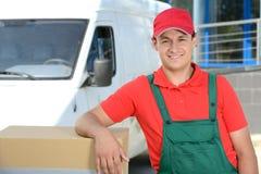 deliveryman Zdjęcie Stock