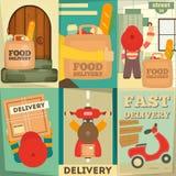 deliveryman Obrazy Royalty Free