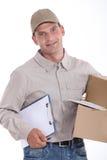 Deliveryman Stock Image