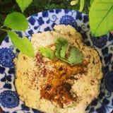 Delizia di hummus Fotografia Stock