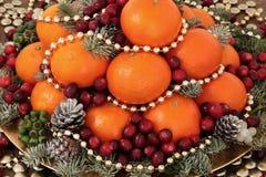 Delizia festiva della frutta Immagini Stock
