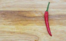 Delizioso piccante del peperoncino rosso rosso molto Fotografia Stock Libera da Diritti
