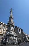 Dell'Immacolata de Guglia à Naples l'Italie photos stock