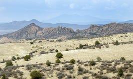 Dell гранита Уотсона озера, Prescott, Аризона США стоковая фотография rf