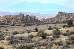 Dell гранита Уотсона озера, Prescott, Аризона США стоковые фотографии rf