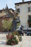 Dell'Accoglienza L'Angelo голубое Стоковые Фото