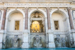 Dell'Acqua Paola Rome Italy de Fontanone Fotografía de archivo libre de regalías