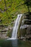 Dell'Acquacheta delle cascate di Casentino Forest Park Fotografie Stock Libere da Diritti