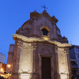 Dell'Addolorata de Chiesa en el centro de Foggia Imagenes de archivo