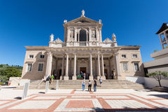 Dell'Addolorata de San Gabriele em Abruzzo, Itália Imagem de Stock Royalty Free