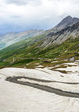 Dell'Agnello Colle, γαλλικές Άλπεις Στοκ φωτογραφία με δικαίωμα ελεύθερης χρήσης