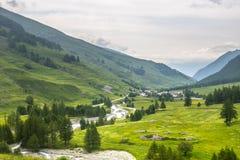 Dell'Agnello Colle, Val Varaita Στοκ εικόνα με δικαίωμα ελεύθερης χρήσης