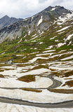 Dell'Agnello de Colle, Alpes français Images stock