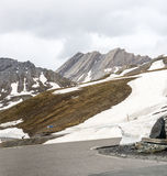 Dell'Agnello de Colle, Alpes français Photo stock