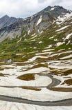 Dell'Agnello di Colle, alpi francesi Immagini Stock