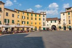 Dell'Anfiteatro Lucca πλατειών Στοκ εικόνες με δικαίωμα ελεύθερης χρήσης