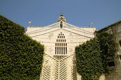 dell'Annunciazione de basilique Images libres de droits