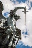 Dell'Arcangelo Michele de Statua Photos stock