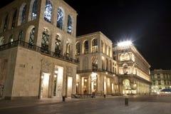 Dell Arengario de Milão - de Palazzo Imagens de Stock