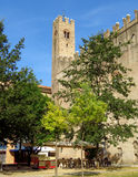 Dell Arengo di Palazzo - di Rimini fotografie stock