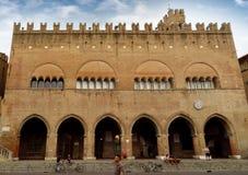 Dell Arengo di Palazzo - di Rimini immagine stock