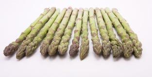 Dell'asparago fine in su fotografia stock libera da diritti