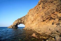 Dell'Elefante Arco, Pantelleria Стоковое фото RF