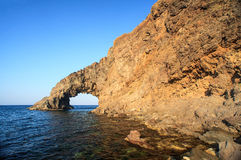 Dell'Elefante de Arco, Pantelleria Foto de Stock Royalty Free