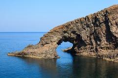 Dell'Elefante di Arco, Pantelleria Immagine Stock