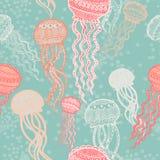 Dell'estratto modello delle meduse graficamente Immagine Stock Libera da Diritti