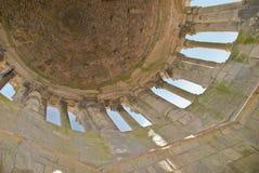 Dell'interno di vecchio steeple romano Fotografia Stock Libera da Diritti