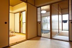 Dell'interno domestico giapponese Fotografia Stock