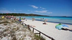 Dell'Isuledda di Spiaggia Fotografia Stock Libera da Diritti