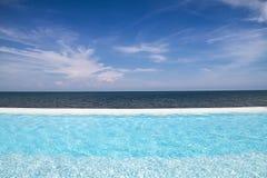 Dell'oceano stagno quasi Fotografie Stock