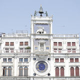 Dell'Orologio de Torre, Veneza, Itália Fotos de Stock Royalty Free