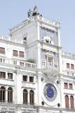 Dell'Orologio de Torre, Venise, Italie Images stock