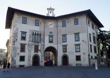 Dell'Orologio Pisa de Palazzo Fotografía de archivo