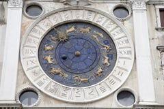 Dell Orologio Torre - башня с часами, Венеция Стоковое Фото