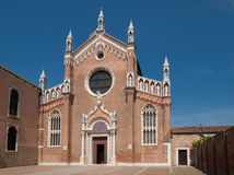Dell'Orto de Madonna de la iglesia Foto de archivo