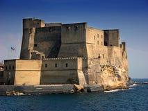 Dell'Ovo de Castel em Nápoles, Itália foto de stock royalty free