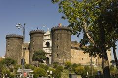 Dell'Ovo de Castel, Nápoles Imagens de Stock Royalty Free