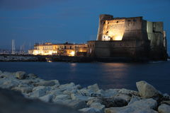Dell'Ovo Napoli de Castel Fotografia de Stock